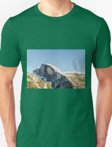 Half Dome Yosemite national Park, California USA T-Shirt