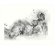 Untitled Abstract Nude Art Print