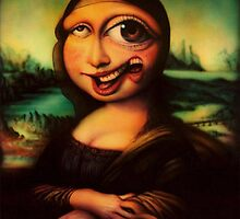 Mona Lisa Remastered New on Nickelodeon by Lutubert