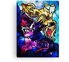 .::From Midnight to Daydreams::. Canvas Print