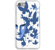 Butterflies - Blue iPhone Case/Skin