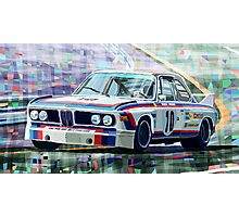 BMW 3 0 CSL 1st SPA 24hrs 1973 Quester Hezemans Photographic Print