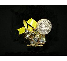 Bauble for Christmas Wrap Photographic Print