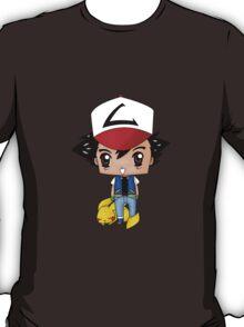 Chibi Ash Ketchum T-Shirt