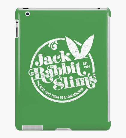 Jack Rabbit Slim's (aged look) iPad Case/Skin