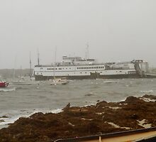 Ferries still grounded by Choux