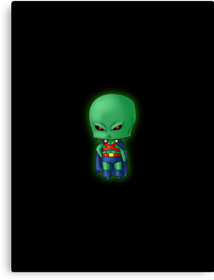 Chibi Martian Manhunter by artwaste