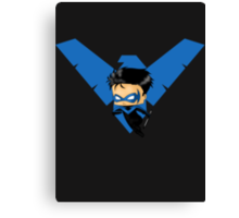 Chibi Nightwing Canvas Print