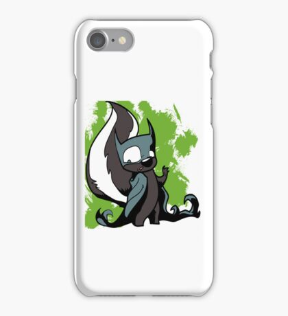 Batskunk 1 iPhone Case/Skin