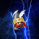 Chibi Thor by artwaste