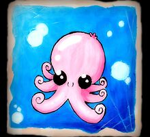 Cute Octopus by momopaul
