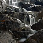 Cascade at Cameron Falls, Yellowknife, NWT, Canada by Phil McComiskey