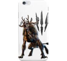 The Witcher 3 - Be a Monster  iPhone Case/Skin