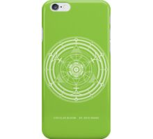 Circular Bloom iPhone Case/Skin