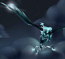 Thunder Pegasus by AnyaLee