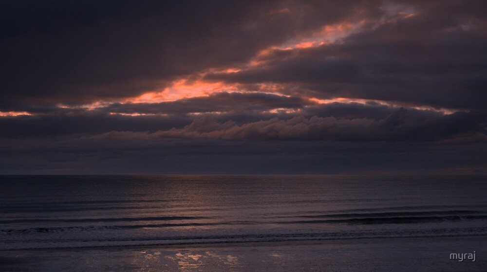 Storm Clouds at Woodgate Beach by myraj