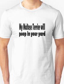 Maltese Terrier Unisex T-Shirt