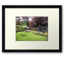 City Park, Launceston, Tasmania Framed Print