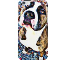 Pit Bull Rescue Beauty (2) iPhone Case/Skin