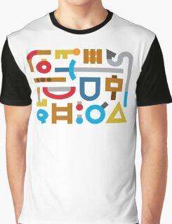 80s Cache Series - Nintendo The Legend of Zelda Vintage Minimalist Line Art, Link Graphic T-Shirt