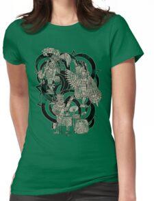 Ancient Jazztecs Womens Fitted T-Shirt