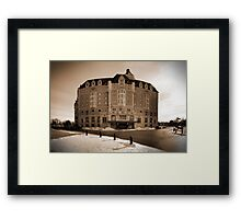 Bez Wide Angle Framed Print