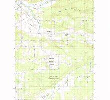 USGS Topo Map Washington State WA Jackson Prairie 241686 1985 24000 by wetdryvac