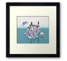Hogwarts series (year 4: the Goblet of Fire) Framed Print