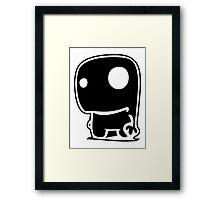 drawing comic Framed Print
