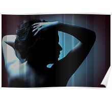 Girl Silhoutte Poster