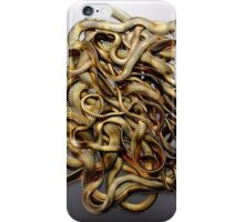 Gold Chain Snakes iPhone Case/Skin