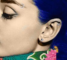 Audrey Piercing Sticker