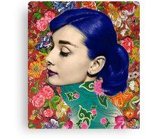 Audrey Piercing Canvas Print