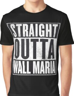 Straight Outta Wall Maria Graphic T-Shirt