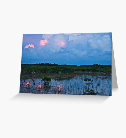 Swamp Reflect Greeting Card