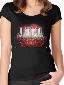 The Strays Women's Fitted Scoop T-Shirt