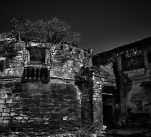 Memories of glorious past - B&W by Biren Brahmbhatt