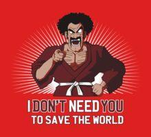 Mister Satan save the World Baby Tee