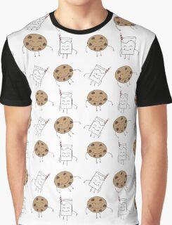 Milk & Cookies Graphic T-Shirt