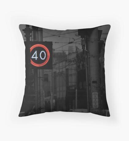 40 Zone Throw Pillow