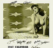 1947 calendar by kostaz