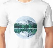 Lake Mountain Reflection Unisex T-Shirt