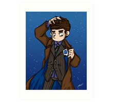 Doctor Who - Tenth Doctor  Art Print