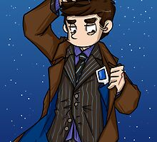 Doctor Who - Tenth Doctor  by BlacksSideshow