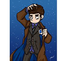 Doctor Who - Tenth Doctor  Photographic Print