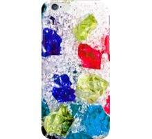 Colored Gems iPhone Case/Skin