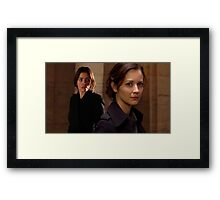 """Person of Interest """"Root & Shaw"""" (Photo) Framed Print"""