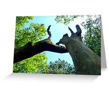 Tree tête-à-tête  Greeting Card