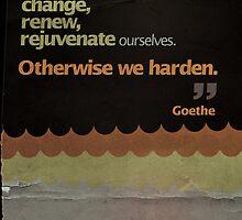 Humanity. Goethe. by Moodstudio