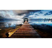 Boatshed Photographic Print